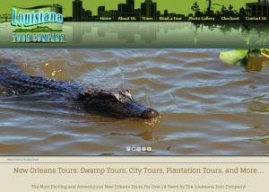 Louisiana Swamp Tours E-Commerce