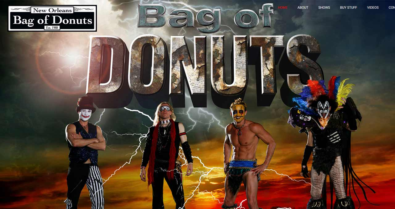 bag of donuts website image