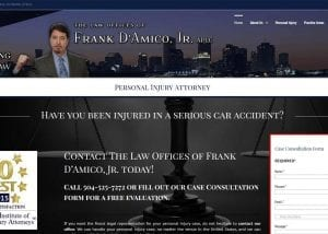 frank damico website