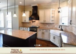 tyson construction website image