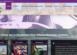 Big Easy Limos, Inc.