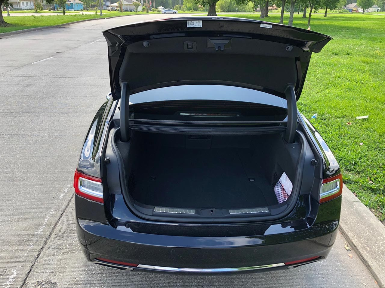 Sedan Luggage Space