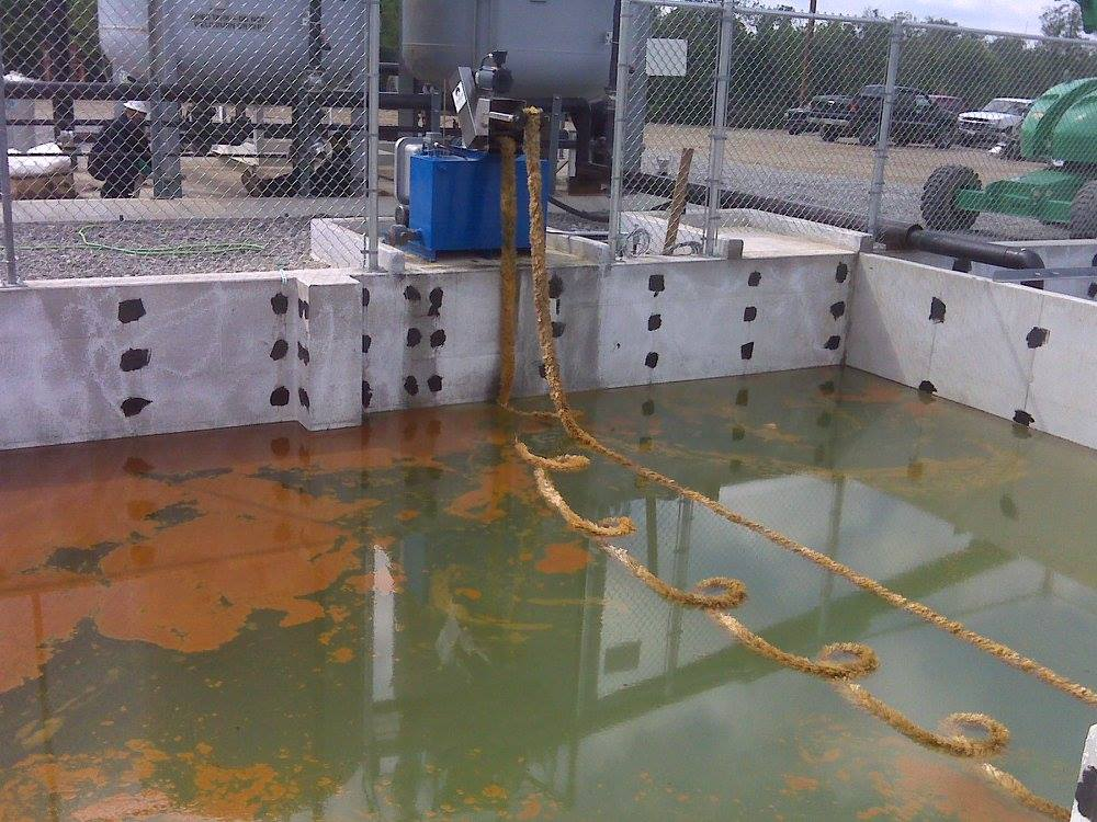 Barracuda 4 Rope Mop Oil Skimming System