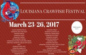 2017 Louisiana Crawfish Festival