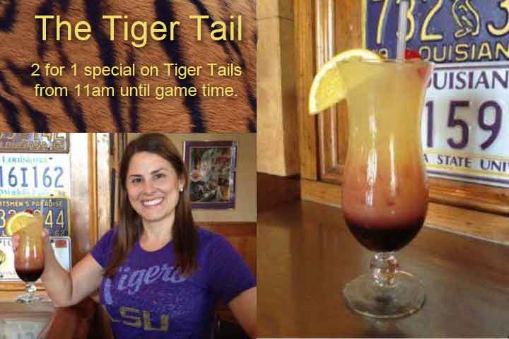 Tiger Tail Mulate's Drink Special