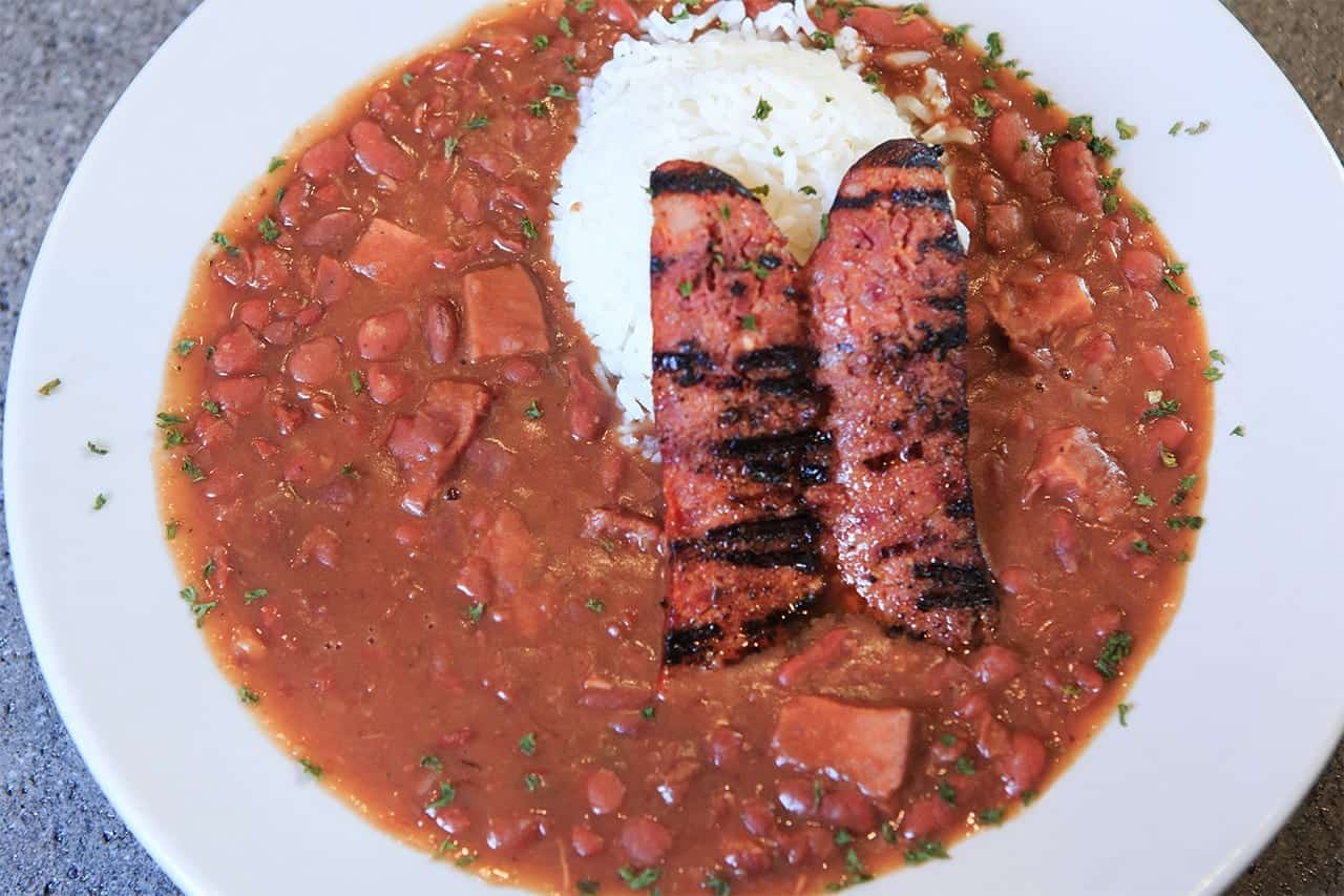 Red Beans and Rice, Kids Menu