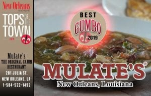 Tops of the Town Best Gumbo 2019
