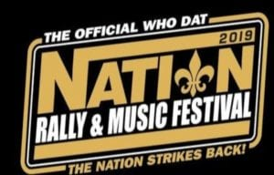 Who Dat Nation Rally
