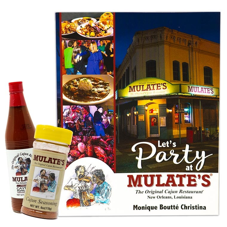 Let's Party at Mulate's Cookbook