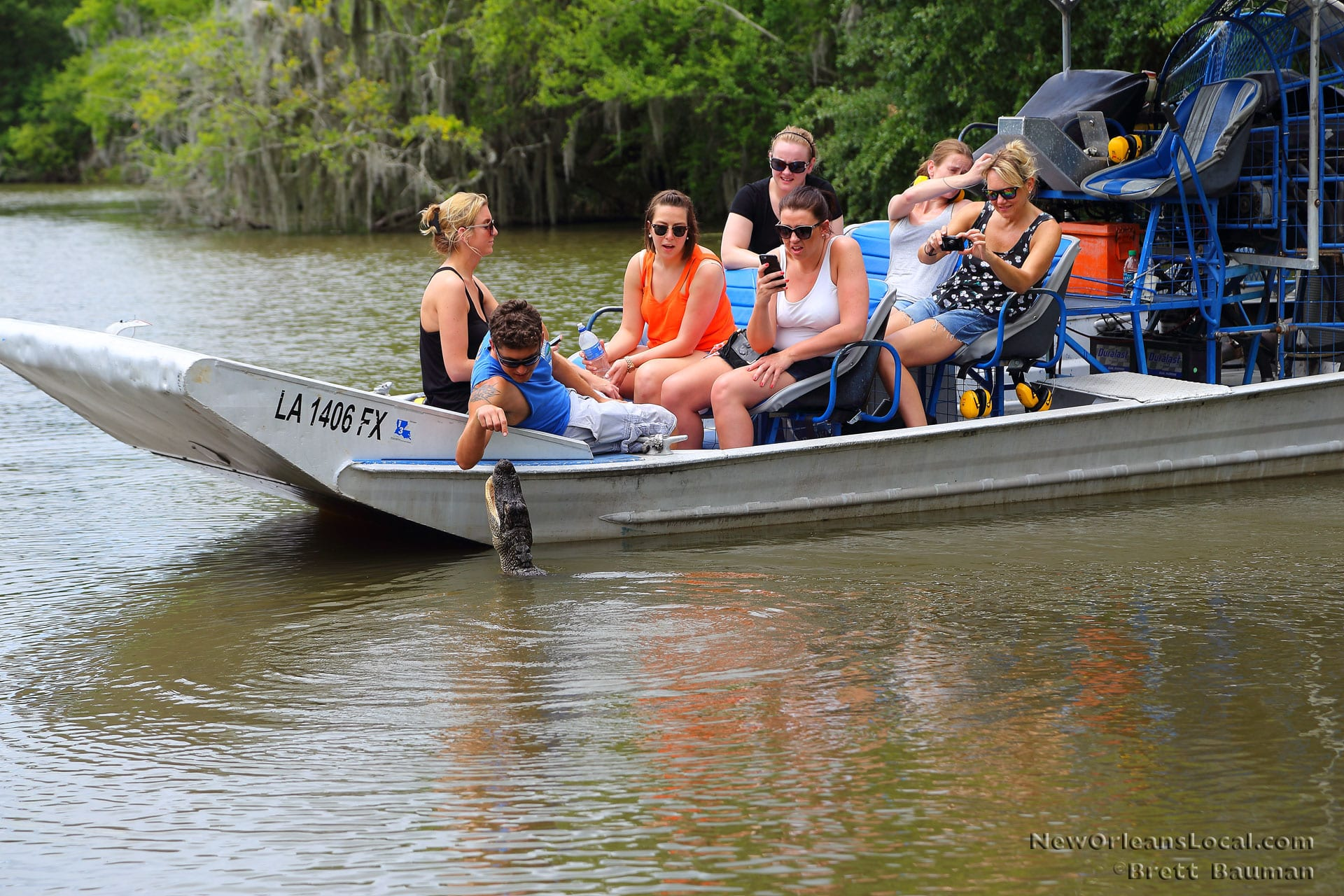 Airboat Swamp Tour New Orleans