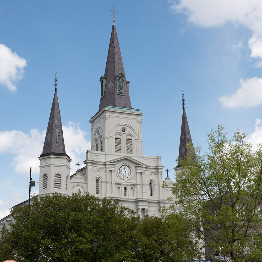 Jackson Square, St. Louis Cathedral, the Cabildo