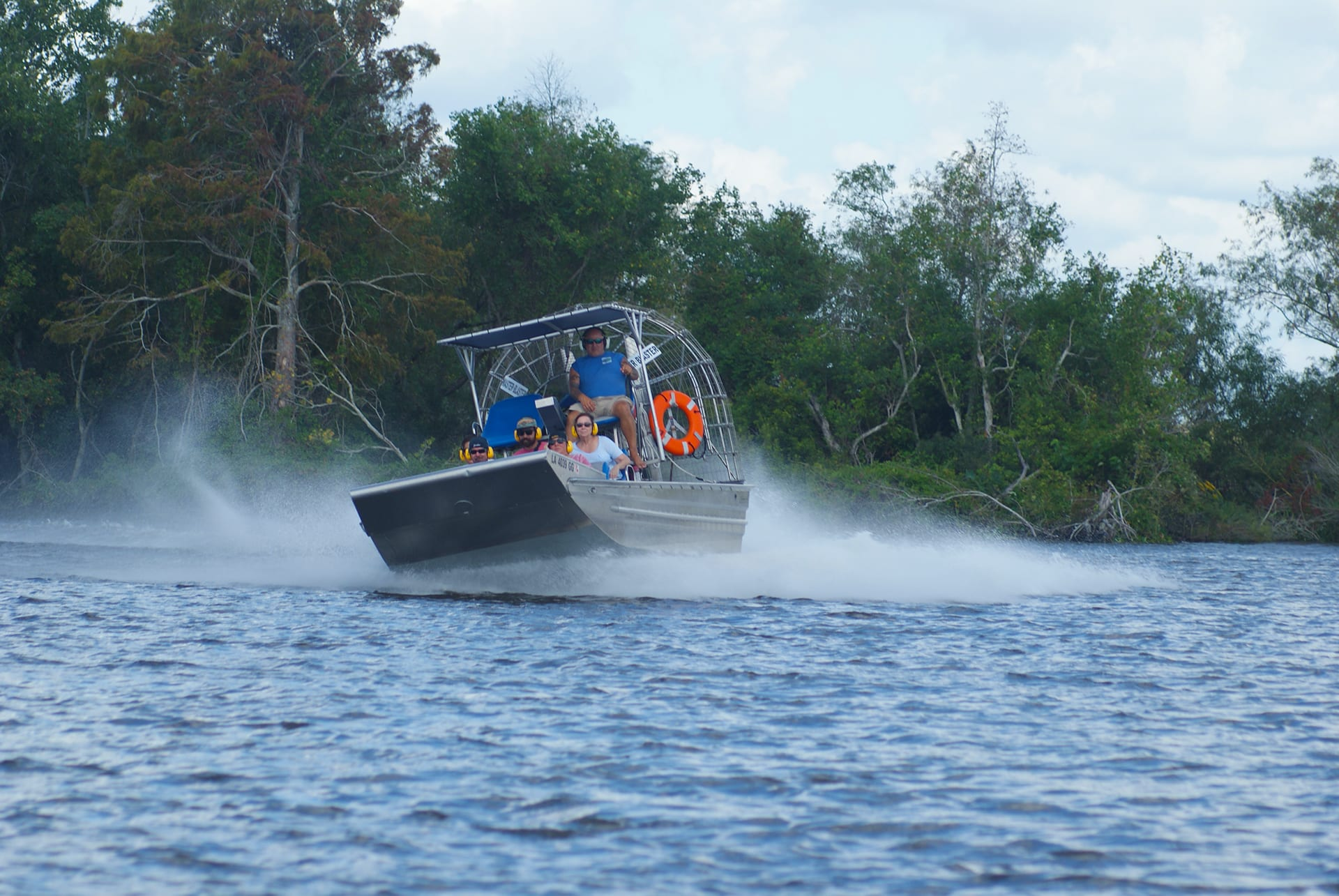 Small Airboat Tour