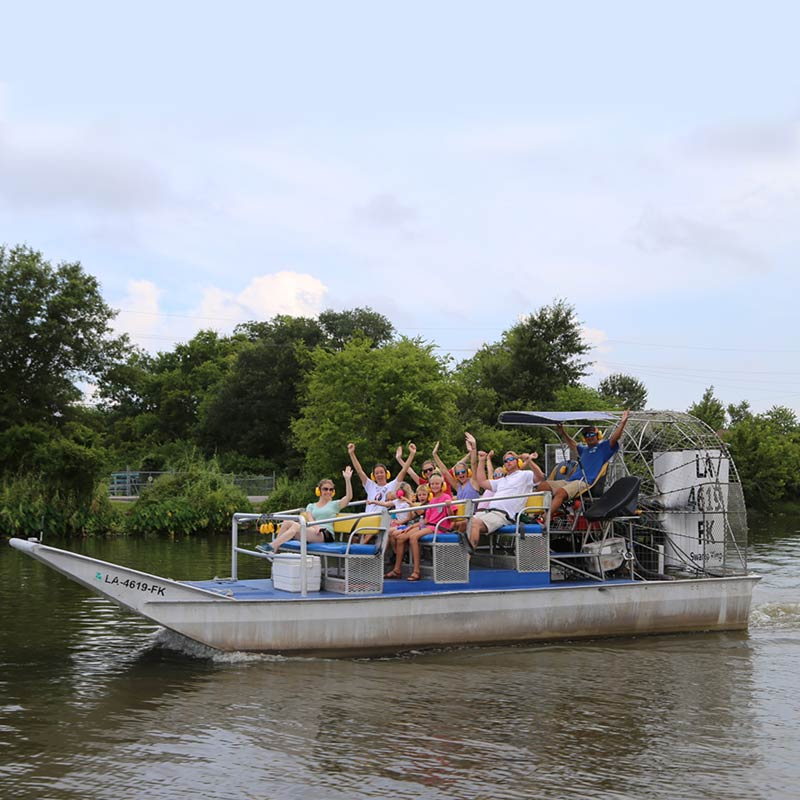 New Orleans Airboat Tour, New Orleans Swamp Tours