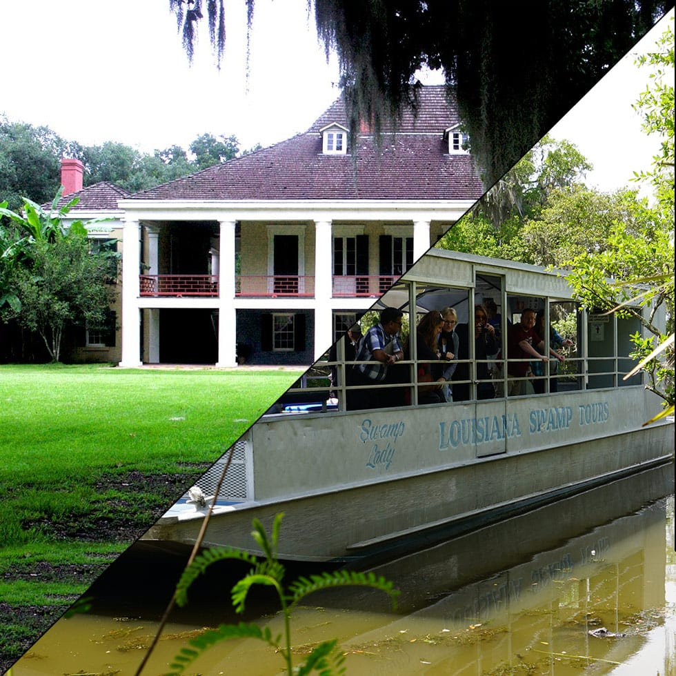 Destrehan Plantation and Swamp Boat Tour, Combination Tours