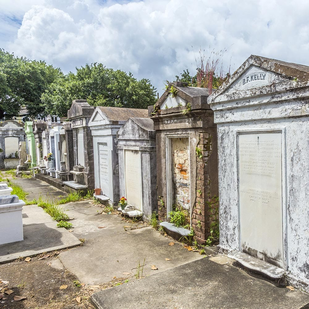 Uptown New Orleans Cemetery