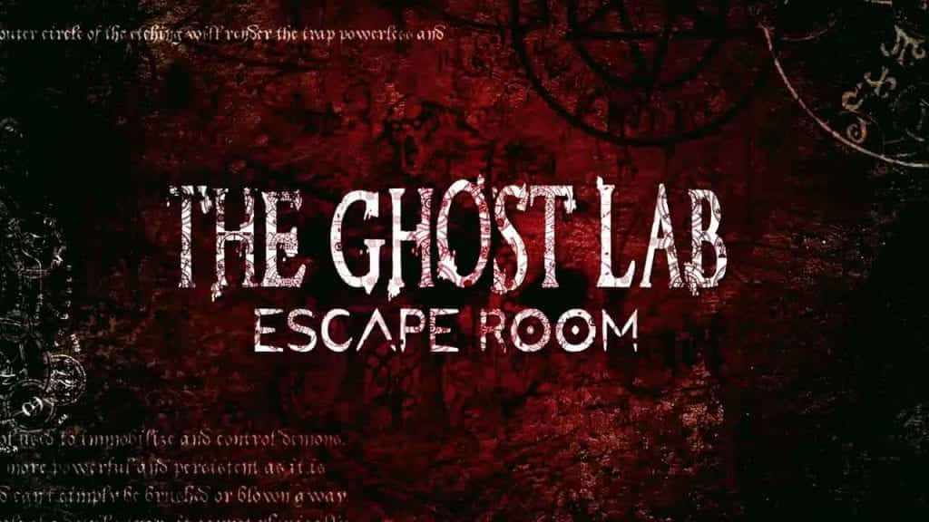 The Ghost Lab Escape Room