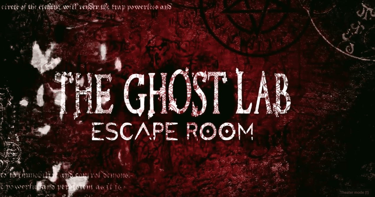 Mystere Escape Rooms The Ghost Lab