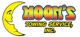 Moons Towing Service Logo