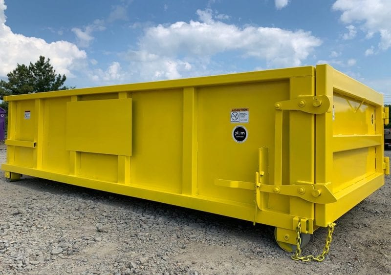 Rectangular Style Roll-Off Dumpsters