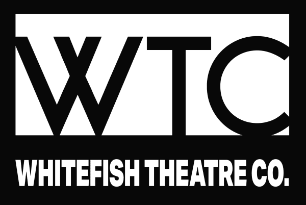 Whitefish Theatre Production Logo and The Cemetery Club