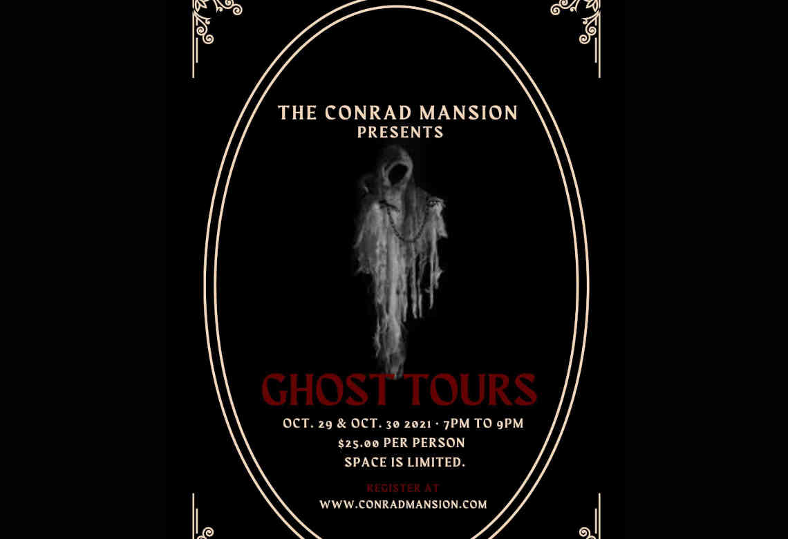 Ghost Tours At Conrad Mansion